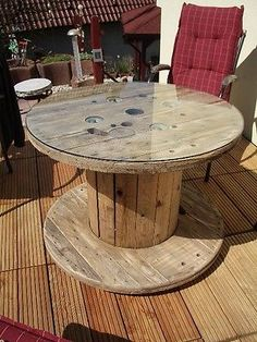 1000 ideas about gartentisch holz on pinterest cable spools pallets and fruit crates. Black Bedroom Furniture Sets. Home Design Ideas