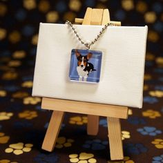 Corgi Necklace now featured on Fab.