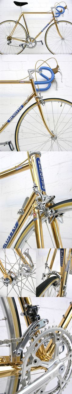 Benotto Modelo 3000 : 18 Carat Gold-Plated Bicycle (1979)