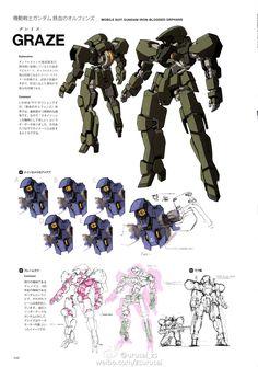 #Graze, #GundamIron-blooded orphans