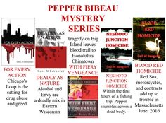 Gail M Baugniet -  Author : #99c Pepper Bibeau Mystery Series Continues with H...