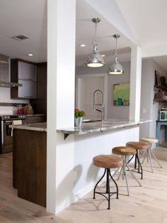nice 60 Stunning Half Wall Kitchen Designs Ideas