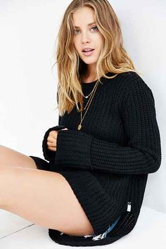 One Teaspoon Harvey Chunky Knit Sweater - Urban Outfitters