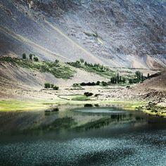 Borat Lake hunza valley gilgit baltistan Pakistan