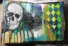 A blog about mixed media art.