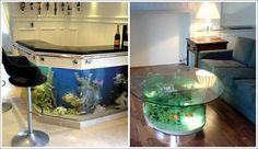 Fish Tank Tables…They Hold Alive Tranquility!