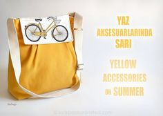 Lookbook Unlimited: Yellow Accessories on Summer