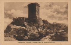 San Marino - The second tower 1910s