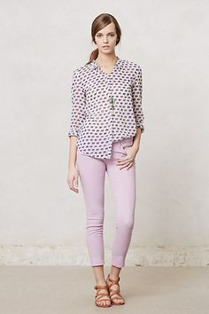 #AGStevieAnkleJeans #Lilac #Anthropologie