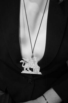 "silver pendant ""LAGUNA"" series"