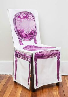 Almost Antique Chair Cover