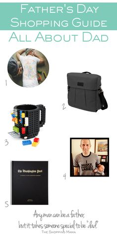 Father's Day Shopping Guide:: All About Dad