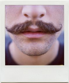 That awkward moment when you ask a guy in class why he doesn't have a moustache.