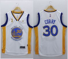 Golden State Warriors Stephen Curry White New Champions Stitched NBA Jerseys de7259c60e99
