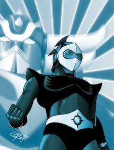 Devilman Amon, Ulysse 31, Robot Cartoon, Mecha Anime, Super Robot, Geek Art, Illustrations And Posters, Final Fantasy, Anime Manga