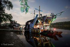 """ECO ART: SWOON's """"Junk Rafts"""""""
