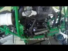 Quadriciclo Artesanal -  Detalhes da Construção