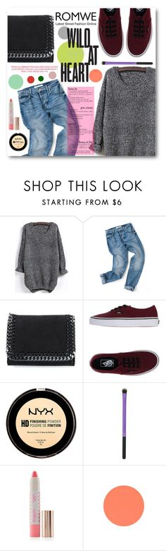 """""""Wild At Heart"""" by tasnime-ben ❤ liked on Polyvore featuring STELLA McCARTNEY, Vans, Accessorize and romwe"""