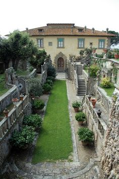 Villa Gamberaia...My wedding took place here.  Magical.