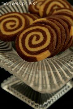 Spiralki czekoladowo - waniliowe