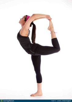"Yoga Poses Around the World:  ""Natarajasana"""
