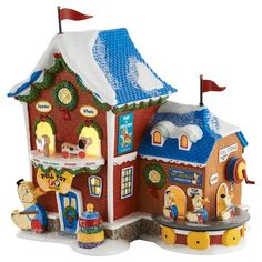 North Pole Fisher Price Pull Toy Factory | Department 56 Villages, Free Shipping on Dept 56