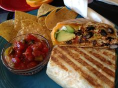 Velo Rouge Cafe in San Francisco, CA // best breakfast burrito in the city