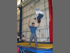 Do some cool acrobatic tricks! $35.00  #trampoline #funsherpa #SF #Sanfo