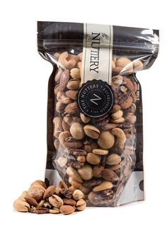 The Nuttery Roasted and salted Mixed Nuts - 16 ounce Pouch Bags (1lb) >> New and awesome product awaits you, Read it now  : Fresh Groceries