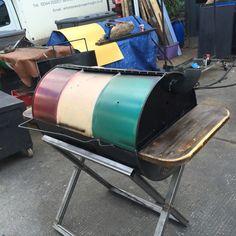 "Don't be colouristic… – ""oRiGiNal jErK"" OIL DRUM BBQs, London"