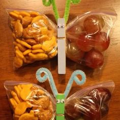 Saw this cute idea on my Facebook thread :) perfect creativity for kids snacks!