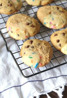 This is My Favorite Cookies Cookie is so fun...it's my 3 favorite cookies all smushed together to make one yummy, chewy cookie!