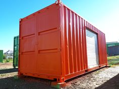 Custom storage container by Topshell Containers, South Africa.   #storageunit #storagecontainers #storage