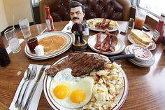 A Hearty Breakfast. #ParksandRec