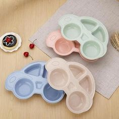 Adaptable Food Tableware Cartoon Panda Dinnerware Set Anti-hot Training Bowl Spoon Kids Feeding Cups, Dishes & Utensils