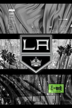 Los Angeles Kings Poster, LA Kings Hockey Print, Los Angeles Kings Man                      – McQDesign La Kings Hockey, Kings Man, Man Cave Art, Nhl Logos, Sports Fanatics, Los Angeles Kings, Jonathan Quick, Angels, Wall Papers