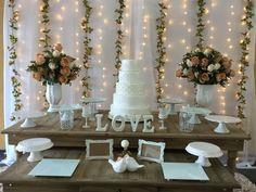Locação Decoração Casamento - Painel Floral Clean II no Elo7 | Fabiana Borges Locações e Decorações (E2DB05)