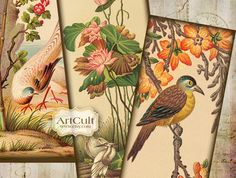 unique bookmarks | UNIQUE ORIENTAL BOOKMARKS - Digital Collage Sheet printable jpg ...