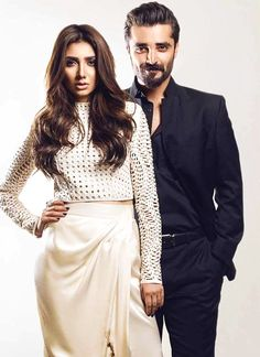Mahira Khan and Hamza Ali Abbasi