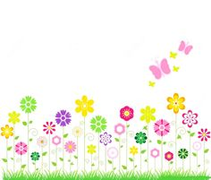 Spring flowers border clipart clipart panda free clipart images spring flower banner clipart share your clipart archive and find cliparts for your design presentation and homework mightylinksfo