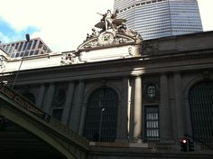 outside of grand central taken by me Environmental Law, Property Rights, The Outsiders, Louvre, Building, Travel, Viajes, Buildings, Destinations