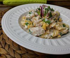 IMG_20160904_140059 Pasta Dishes, Pasta Salad, Potato Salad, Chili, Goodies, Potatoes, Lunch, Meals, Ethnic Recipes