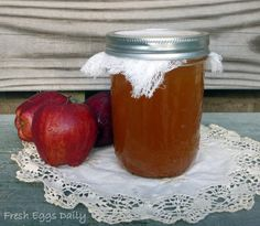 Did you know that you can make your own apple cider vinegar with just some apple peels and cores, sugar, water...and a bit of patience