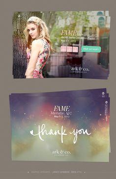Ark / FAME / E-postcard Design 2013 /