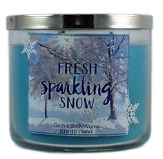 Bath & Body Works Home Fresh Sparkling Snow Scented Candle 3 Wick 14.5 Oz Holiday Limited Edition 2015 Bath & Body Works Home http://www.amazon.com/dp/B01622K3Z6/ref=cm_sw_r_pi_dp_iqy3wb069F0G1