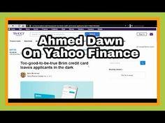 Hello & Welcome Yahoo Finance Readers! | I Am on Yahoo Finance!