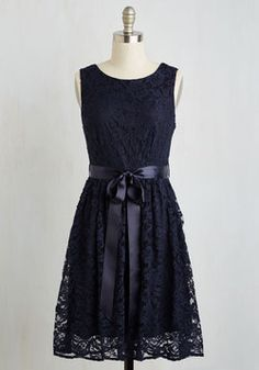 Lovely as Lychee Dress in Navy. A worldly gal such as yourself always yearns to try new things - whether testing a new cuisine or trying on a sassy new style. #blue #prom #wedding #bridesmaid #modcloth