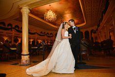 Magic Kingdom Wedding Portraits: Tara + Matthew