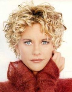 Meg Ryan Curly Hairstyles