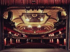Theater by franck bohbot, via Behance